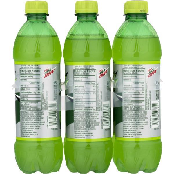 Diet Mountain Dew 6 Pack