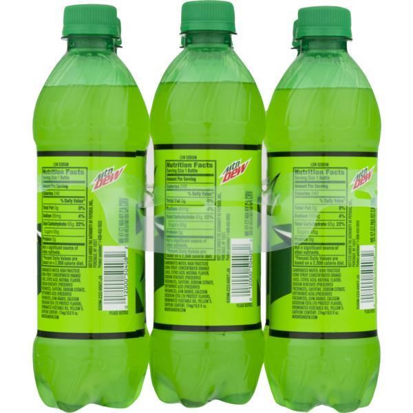 Mountain Dew 6 Pack