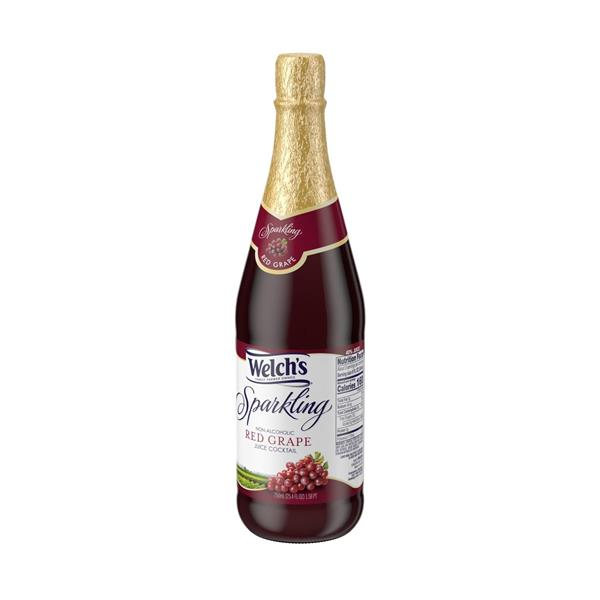 Welch's Sparkling Non Alcoholic Red Grape Juice Cocktail