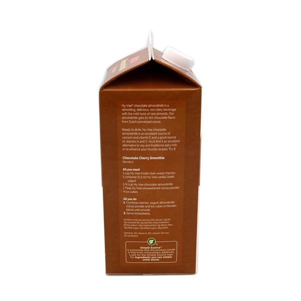 Hy-Vee All Natural Chocolate Almond Milk