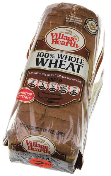 Village Hearth 100% Whole Wheat Bread