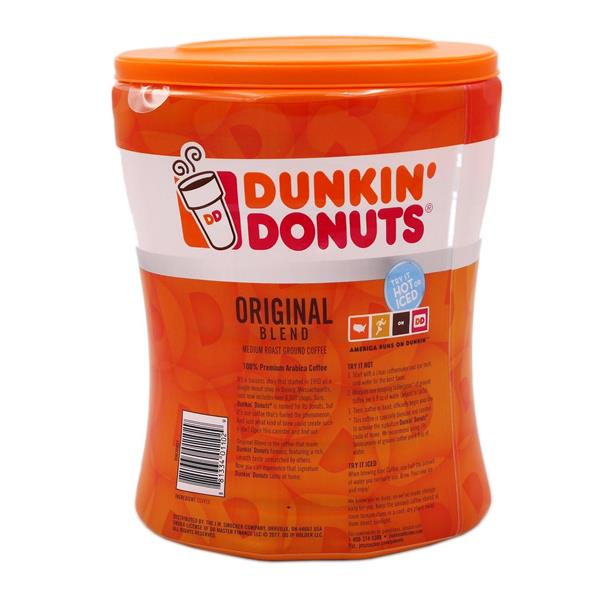 Dunkin Donuts Original Blend in Canister
